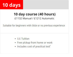 10 day intensive Leicester